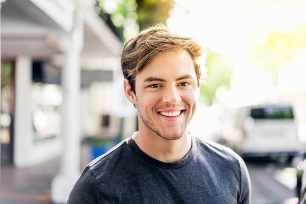 Man Smiling - Adult Orthodontics